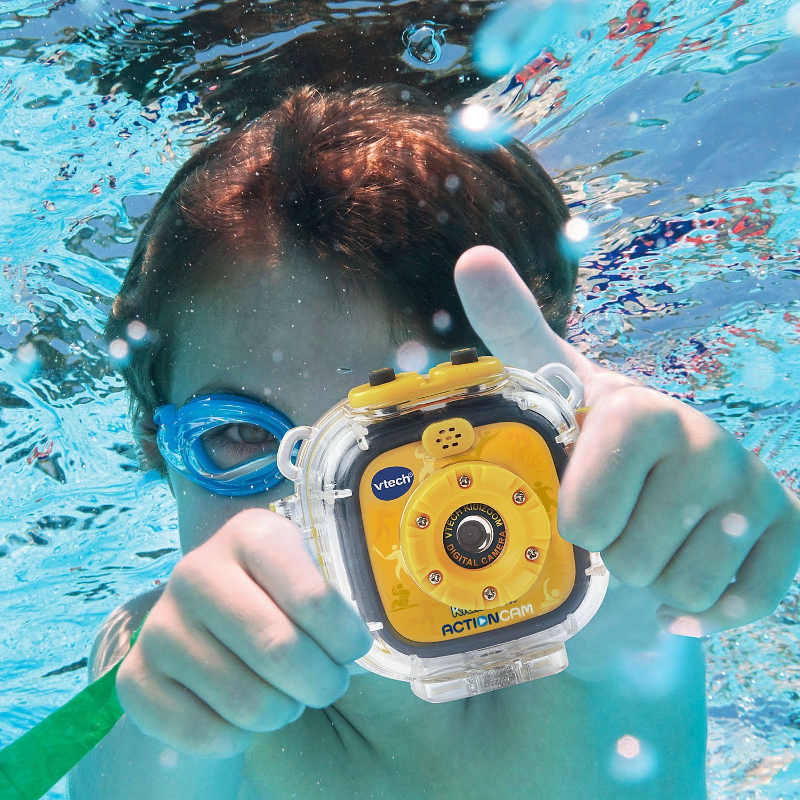 Vtech Kidizoom Action Cam - A great multiuse camera for little advnturers. Perfect for taking underwater selfies too!