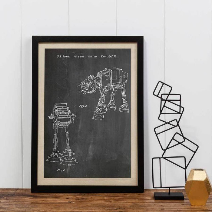 Best Star Wars Gifts - Empire Strikes Back Vehicle Print