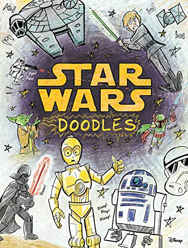 Best Star Wars Gifts - Star Wars Doodle Book