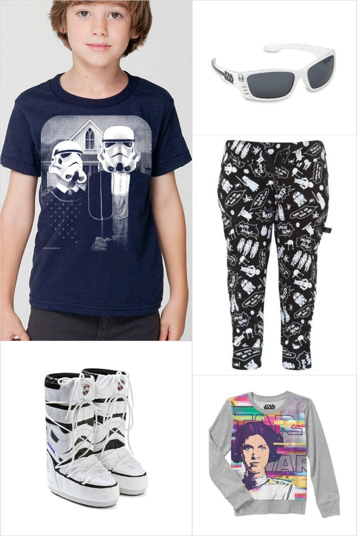Star Wars Apparel and Accessories for Kids