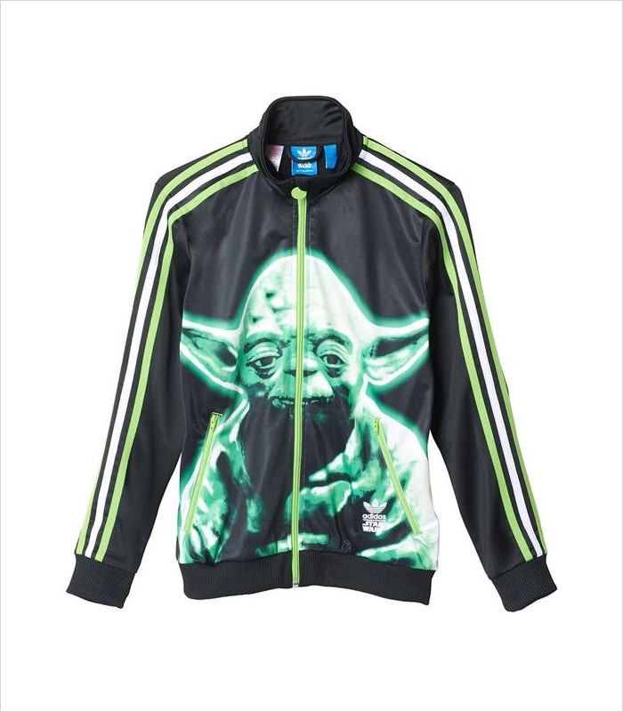 Star Wars Apparel for Kids - Adidas Originals Star Wars Yoda Track Top
