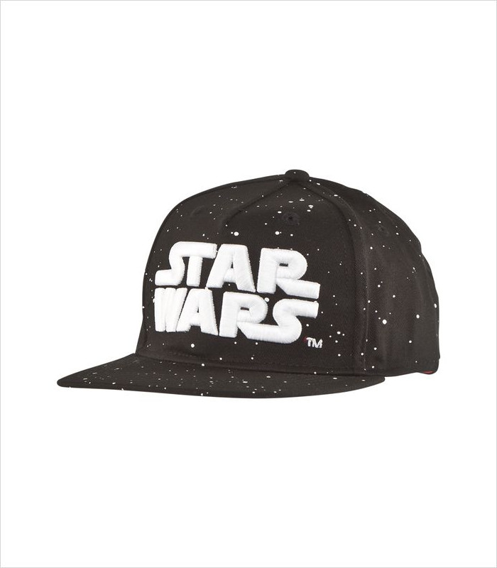 Star Wars Apparel for Kids - Black Star Wars Glow-in-the-Dark Cap