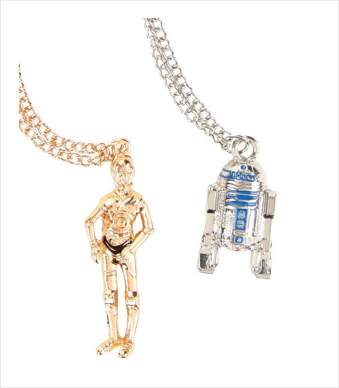 Star Wars Apparel for Kids - C-3PO & R2-D2 Necklace Set