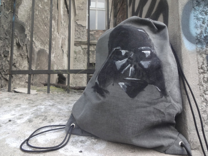 Star Wars Apparel for Kids - Darth Vader Inspired Drawstring Backpack