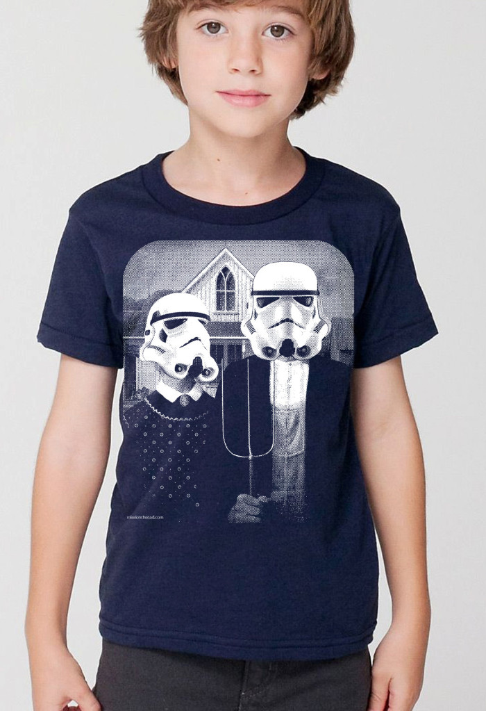 Star Wars Apparel for Kids - Kids Star Wars Stormtrooper T-shirt