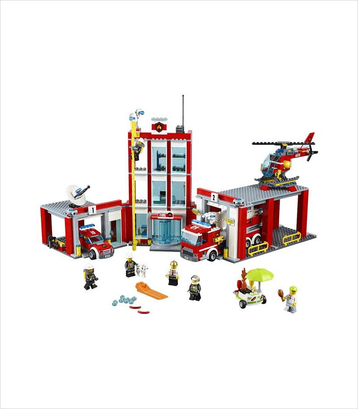 Coolest LEGO sets for kids - LEGO CITY Fire Station