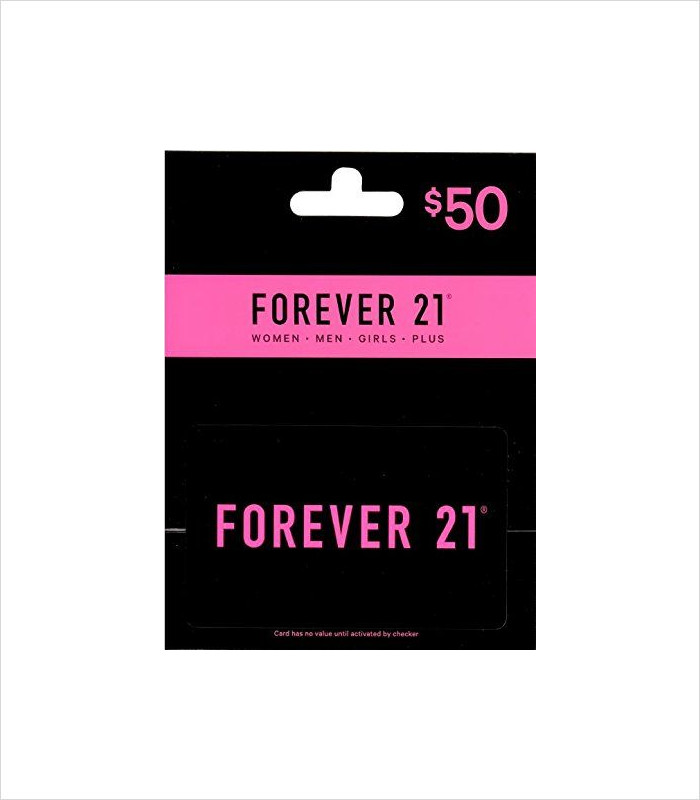 Gifts for Tween Girls - Forever 21 Gift Card