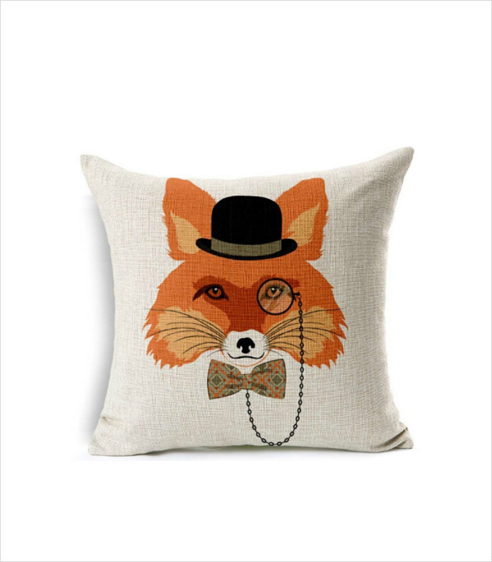 Gifts for Tween Girls - Fox Head Pillow Cover