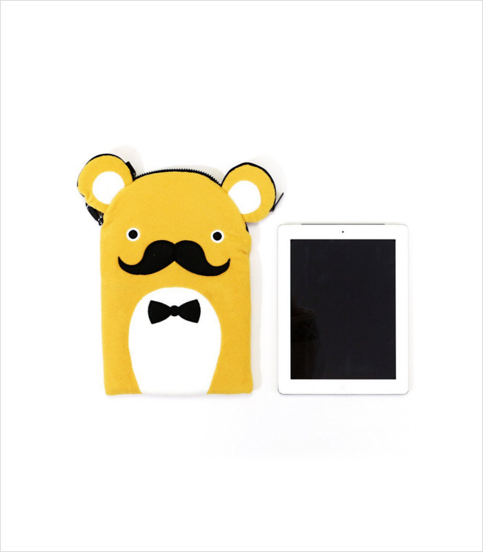 Gifts for Tween Girls - Moustache Tablet Protector