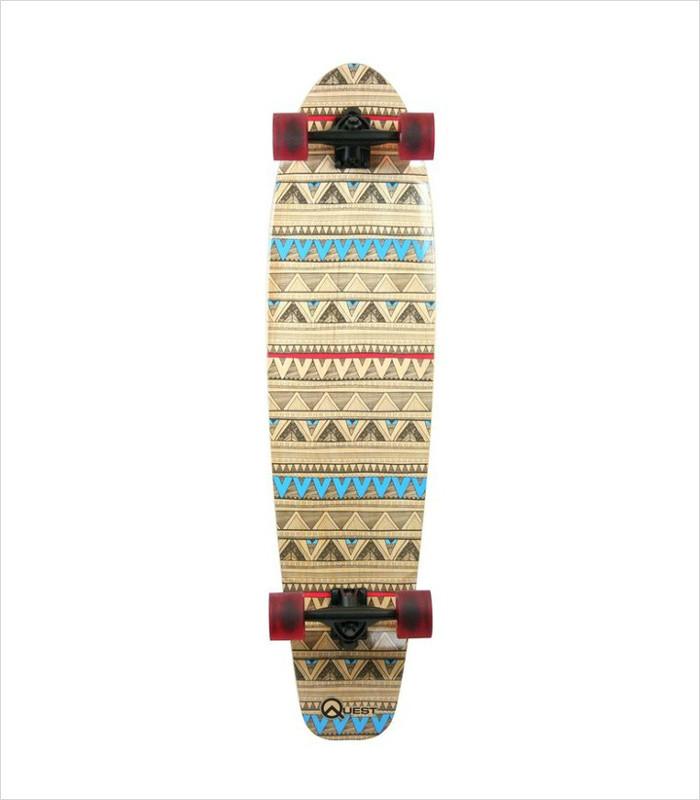 Gifts for Tween Girls - Quest Native Spirit Kick Skateboard