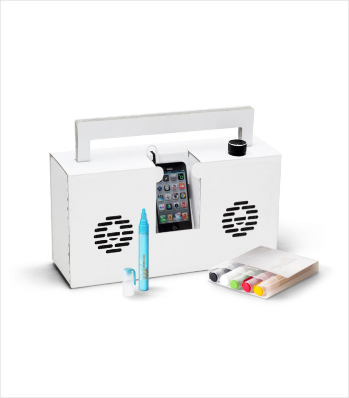 Tech Gifts for Teens and Tweens - Customizable Berlin Boombox
