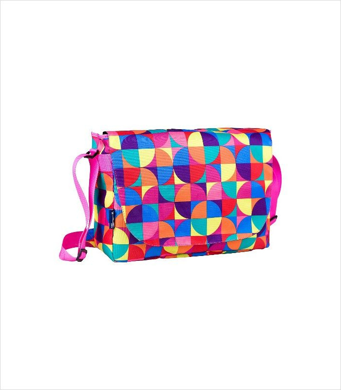 Tech Gifts for Teens and Tweens - Wildkin Pinwheel Laptop Messenger Bag