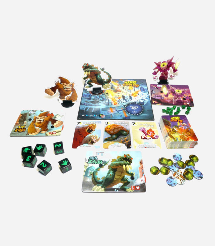 Best board games for kids - King of Tokyo