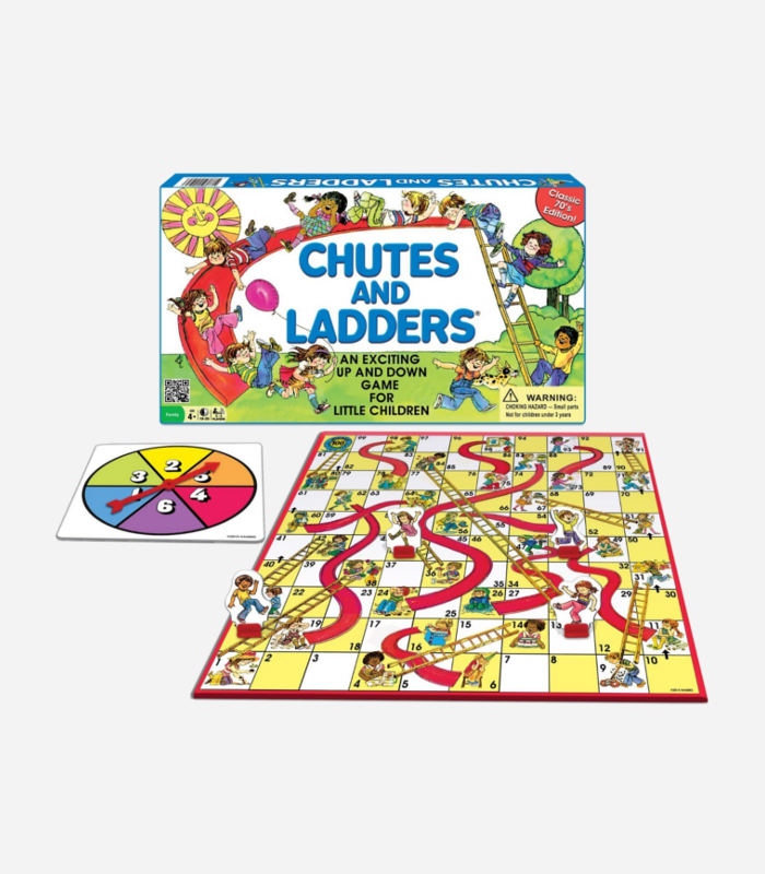 Board Games for Kids - Chutes and Ladders