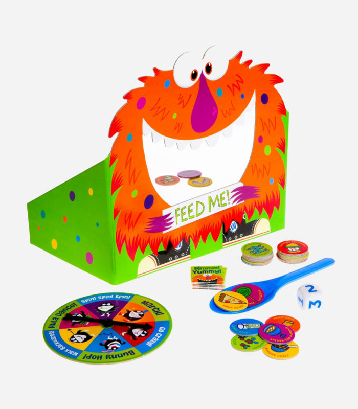 Board Games for Kids - Feed the Woozle