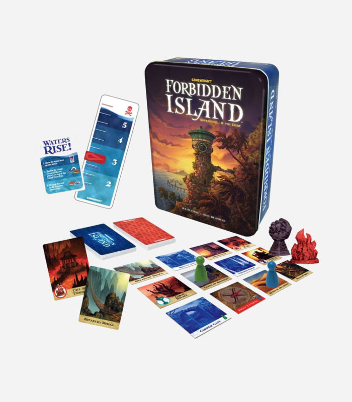 Board Games for Kids - Forbidden Island Game