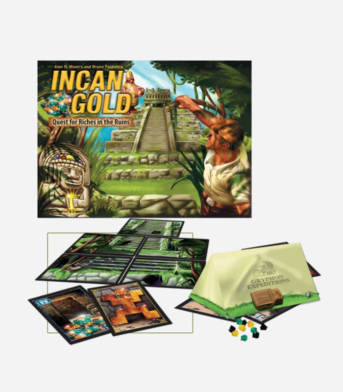 Board Games for Kids - Incan Gold