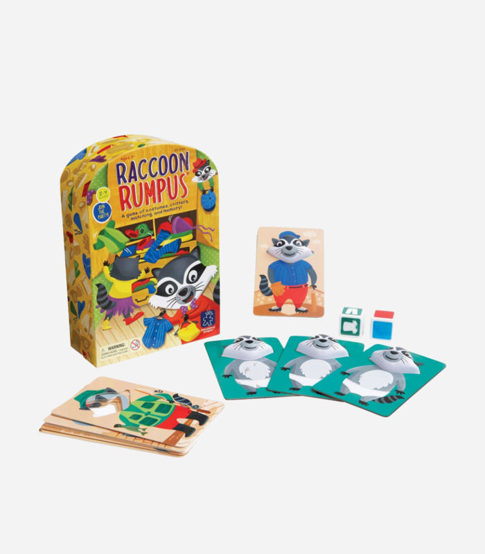 Board Games for Kids - Racoon Rumpus