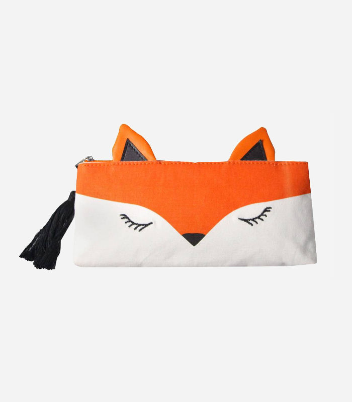 Pencil Cases for Kids-Fox Pencil Case