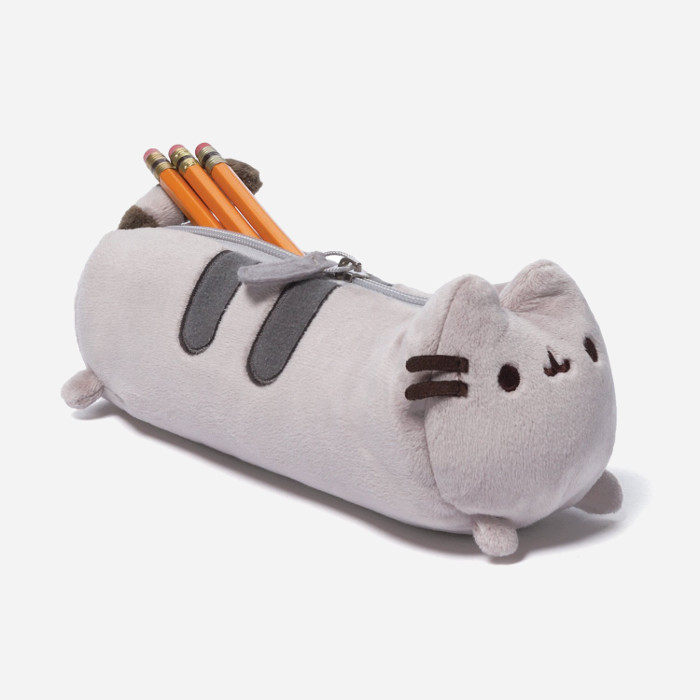 Pencil Cases for Kids-GUND Pusheen Pencil and Accessory Case