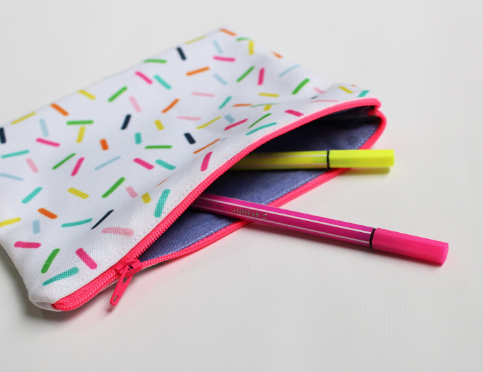 Pencil Cases for Kids-Sprinkles Pencil Case
