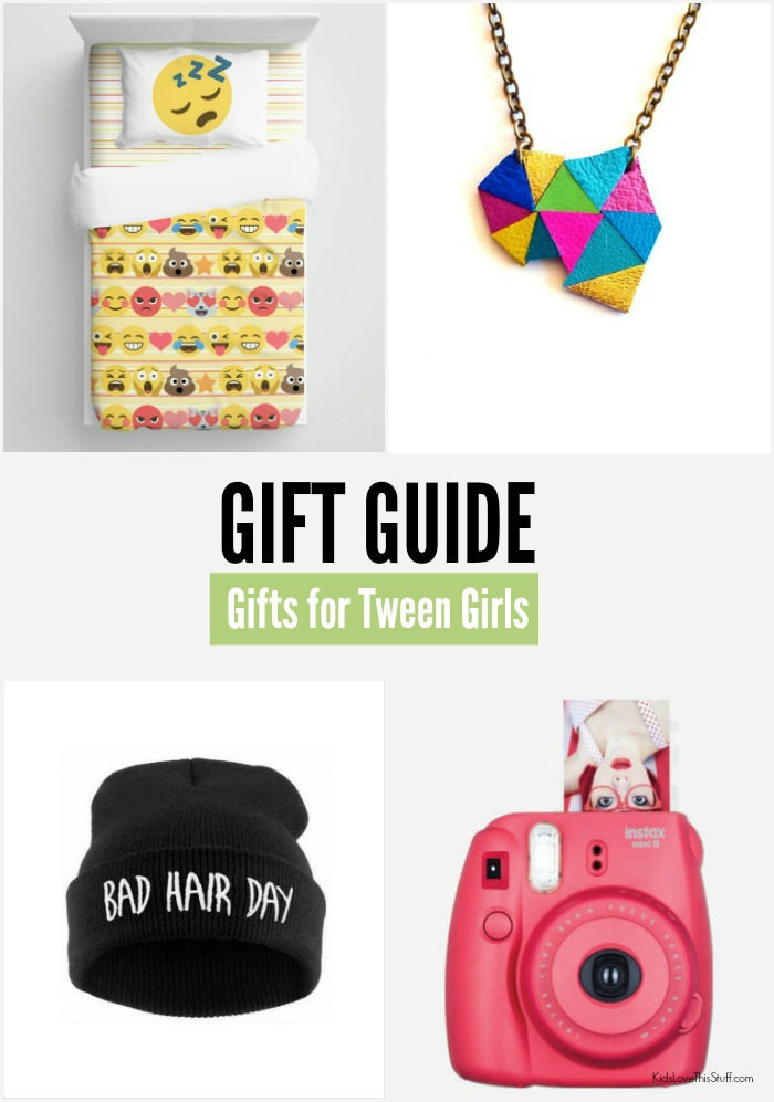 Tween girls just want to have fun. They also want cool gifts.  So we've found some. Over 20 gift ideas for difficult-to-buy-for tween girls.