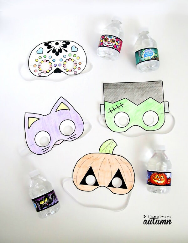 Printable Halloween Masks (via It's Always Autumn)