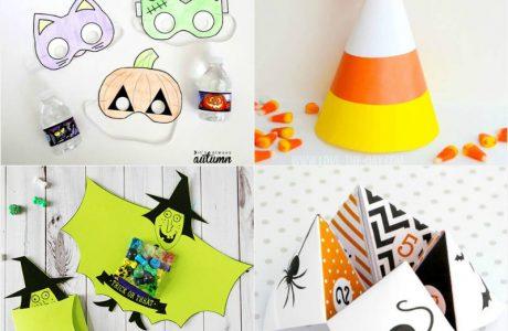 12 Last Minute Halloween Printables