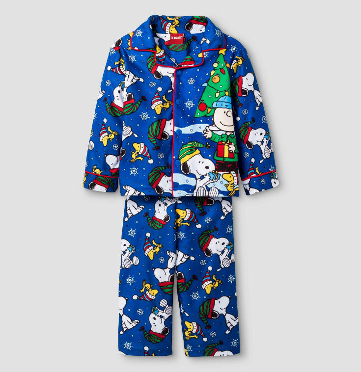 Warm, Fuzzy and Totally Cute Christmas Pajamas for Kids - Snoop Christmas style.