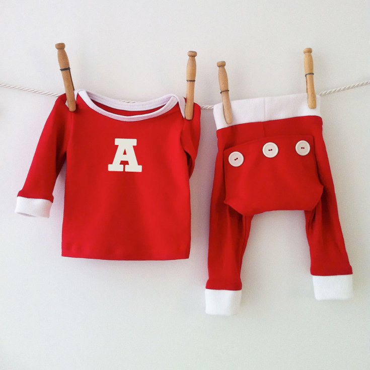 Warm, Fuzzy and Totally Cute Christmas Pajamas for Kids - Perfect for baby's first Christmas