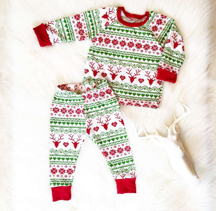 Warm, Fuzzy and Totally Cute Christmas Pajamas for Kids