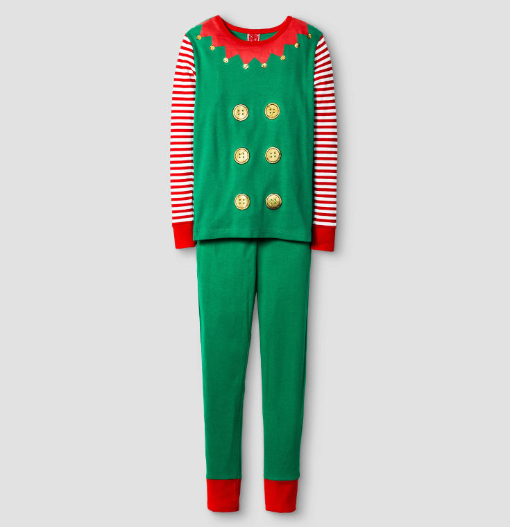 Warm, Fuzzy and Totally Cute Christmas Pajamas for Kids - for the excitable elf of the family