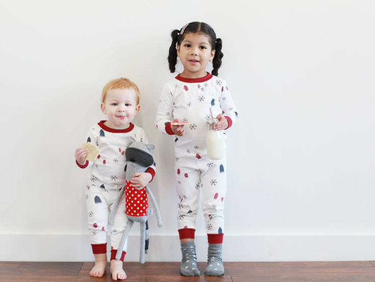 Warm, Fuzzy and Totally Cute Christmas Pajamas for Kids - Christmas jammies the kids can wear all year round.