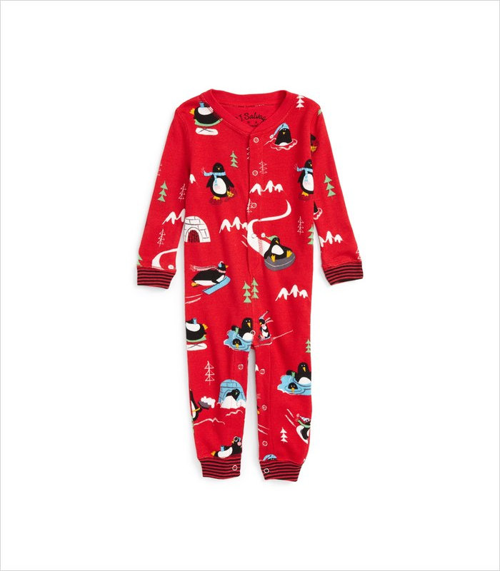 Warm, Fuzzy and Totally Cute Christmas Pajamas for Kids - One cozy penguin suit