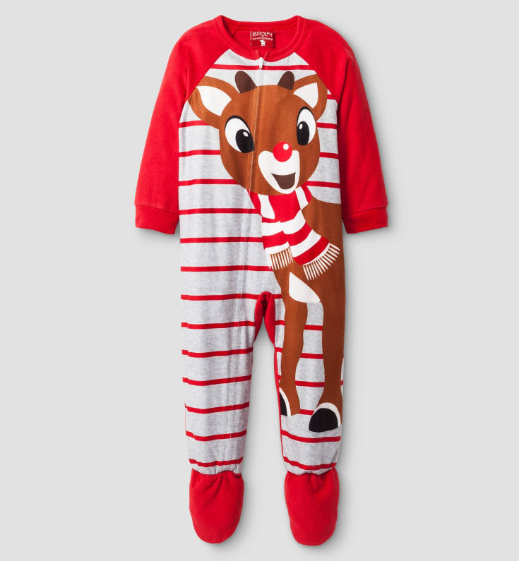Warm, Fuzzy and Totally Cute Christmas Pajamas for Kids - We just say 'awww'