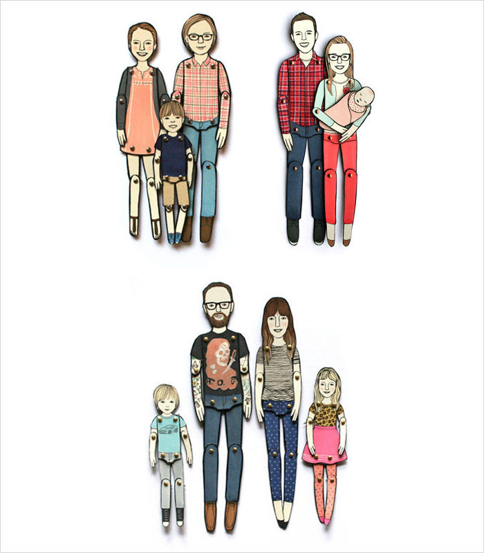 personalized-gifts-for-kids-paper-doll-portraits