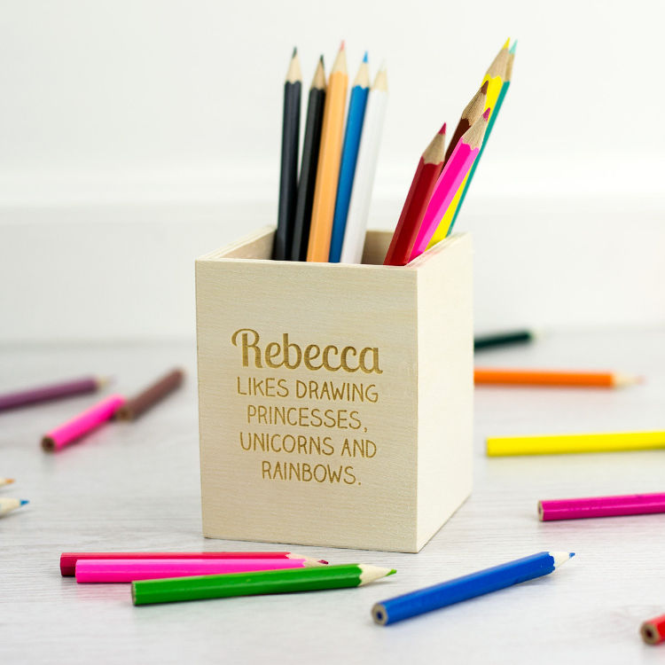 personalized-gifts-for-kids-wooden-pencil-holder