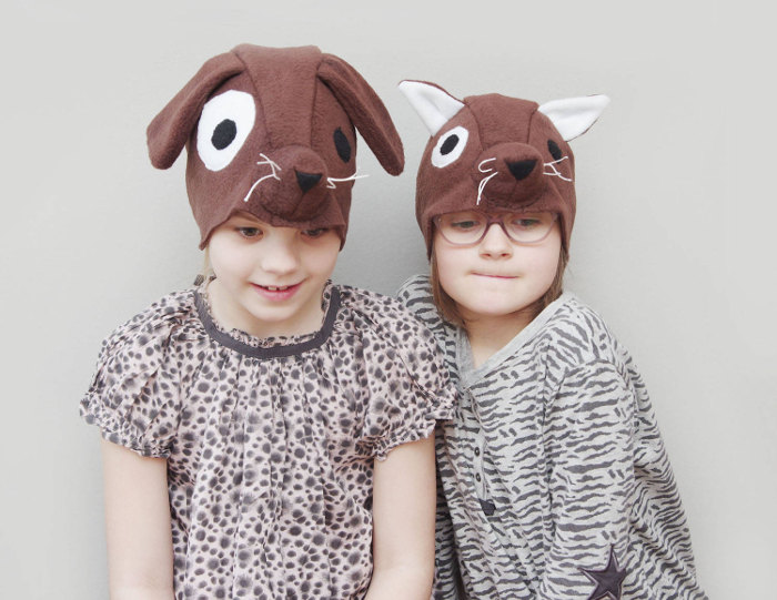 Animal costumes for kids - dog hat costume