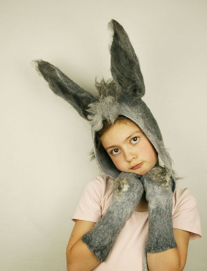 Animal costumes for kids - donkey ears