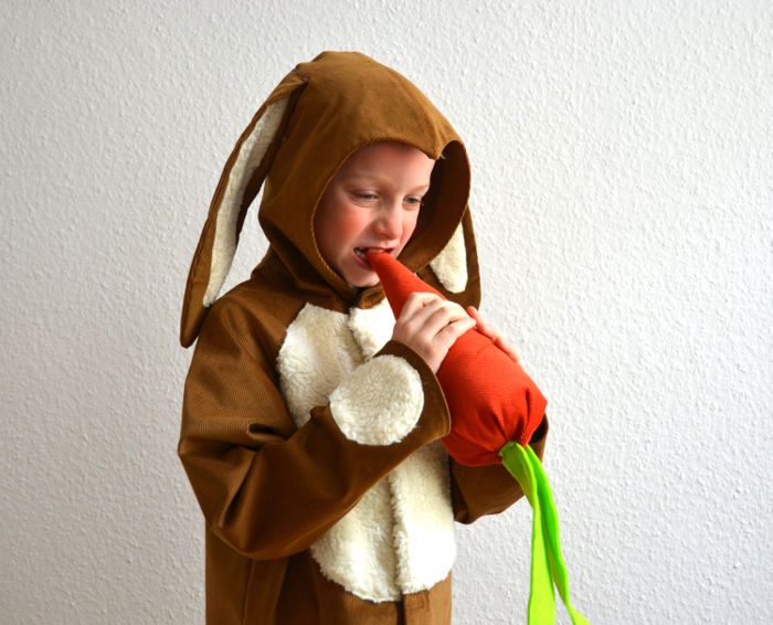 Animal costumes for kids - rabbit costume