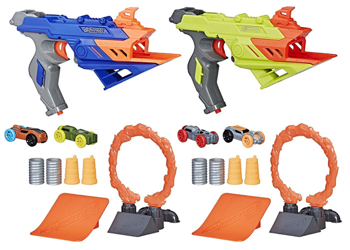 A cool gift idea for an 11 year old boy - Nerf Nitro DuelFury Demolition