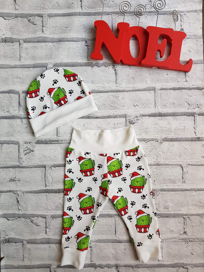 Christmas leggings for toddlers - Christmas cactus