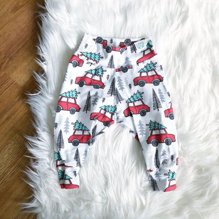 Christmas leggings for toddlers - Christmas car leggings
