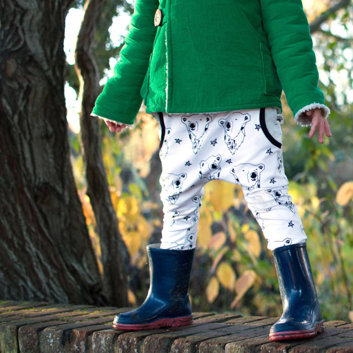 Christmas leggings for toddlers - harem pants