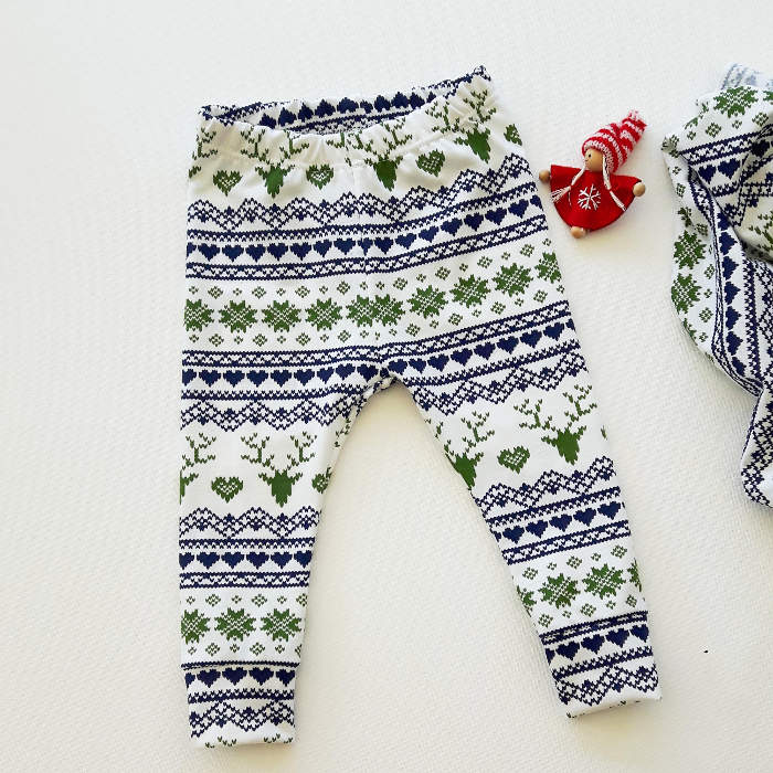 Christmas leggings for toddlers - ugly Christmas leggings