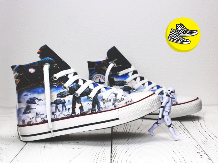 Gift ideas for 13 year olds - Custom Converse - Star Wars