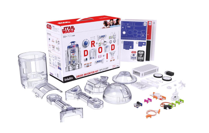 littleBits Star Wars Droid Inventor Kit Components700